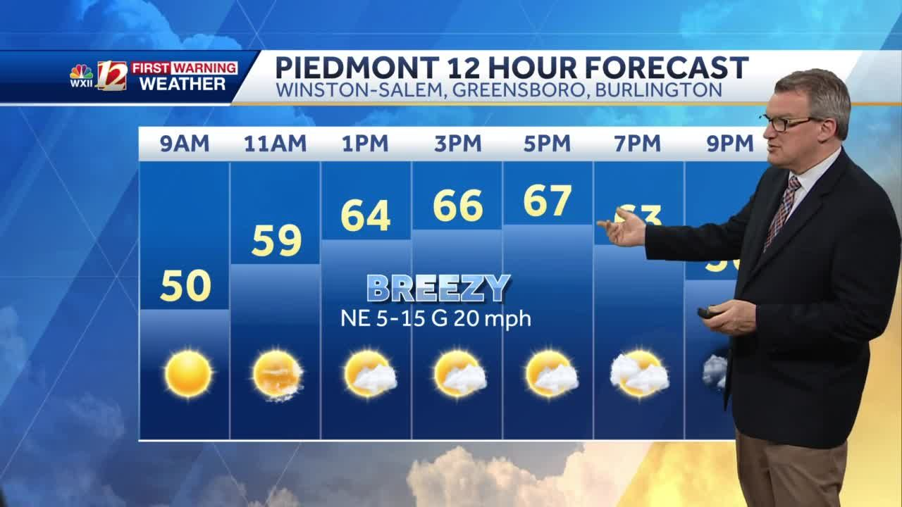 WATCH: Chilly mornings, pleasant afternoons