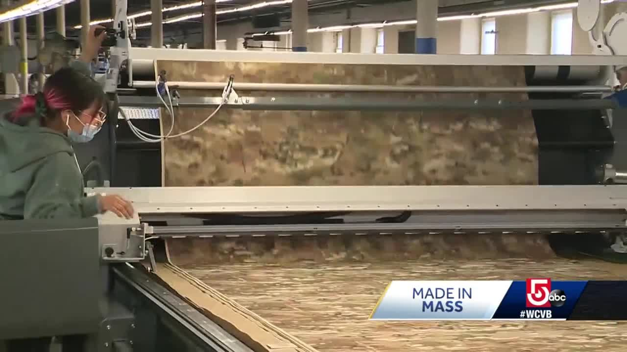 183-year old Mass. company on cutting edge of clothing manufacturing