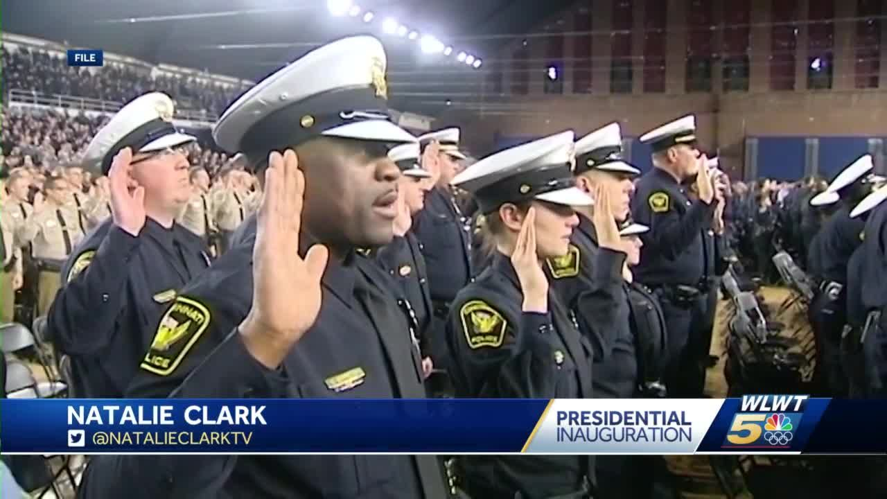 40 Cincinnati police officers head to D.C. to help with security on Inauguration Day