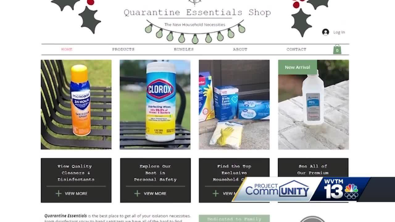 Project CommUNITY: Quarantine quick shop