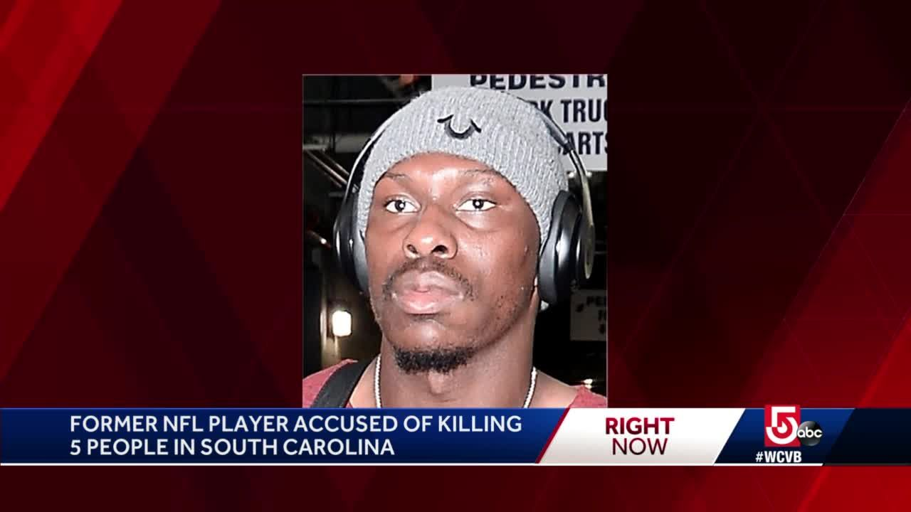 Former Patriot accused in SC mass shooting