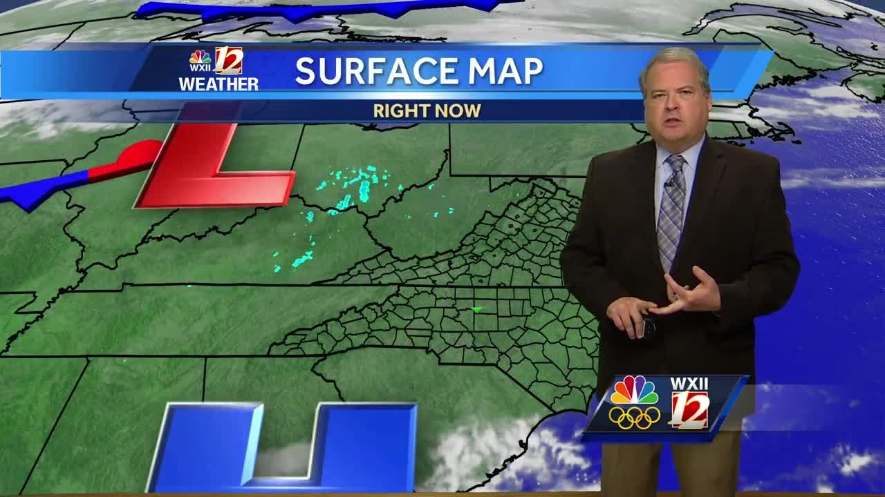 WATCH Dave's Weather Forecast