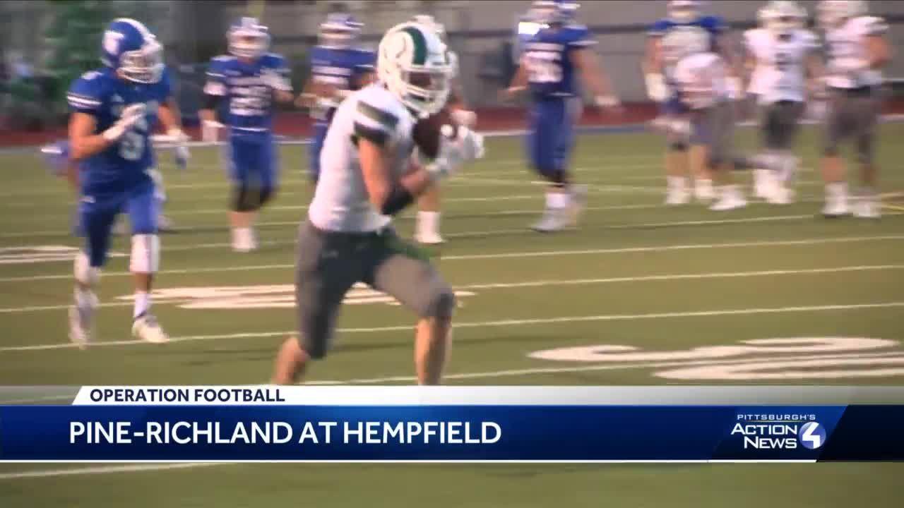 High School Football: Pine-Richland defeats Hempfield