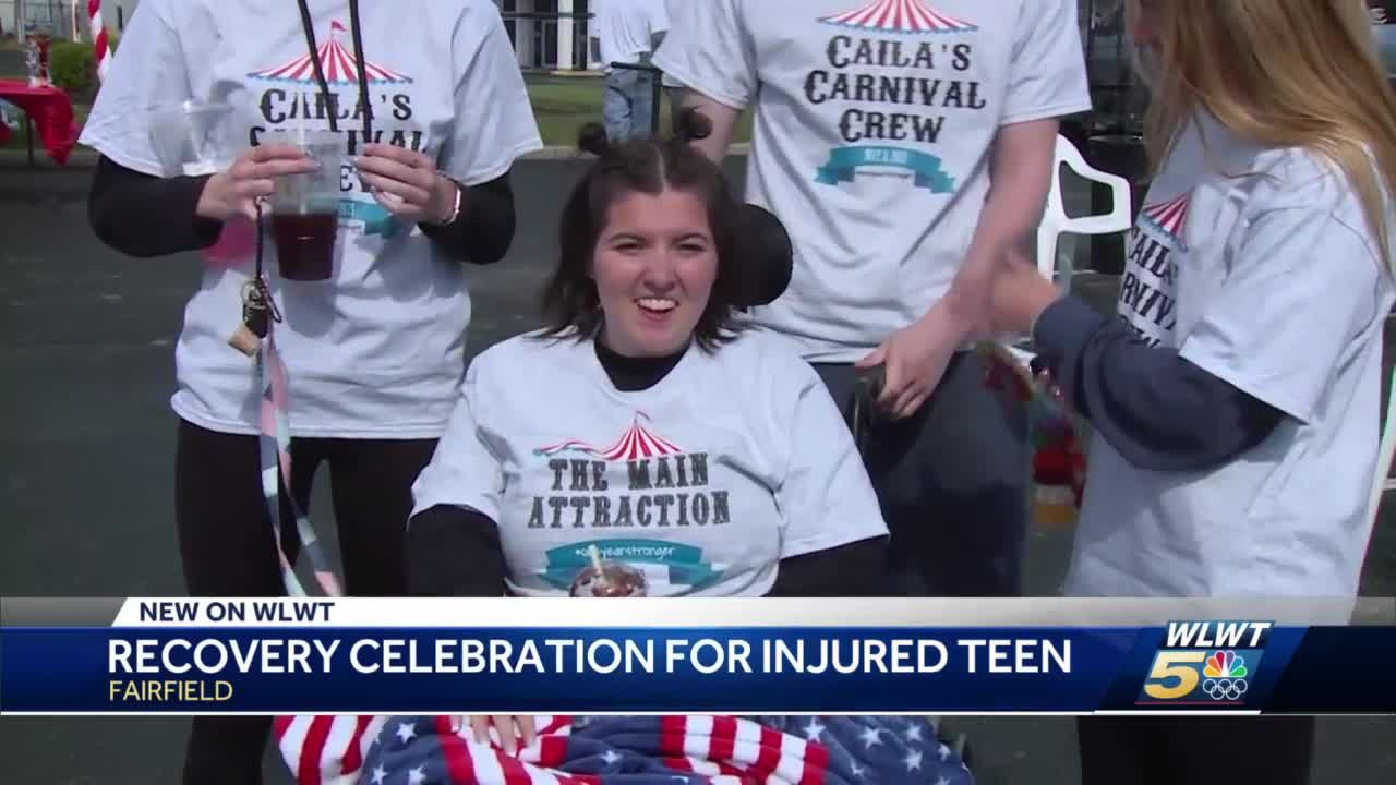 Recovery celebration for injured teen