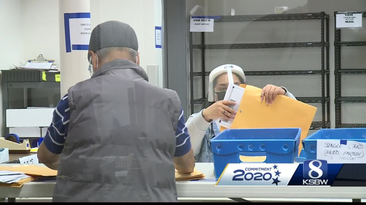 Monterey County seeing record early voting numbers