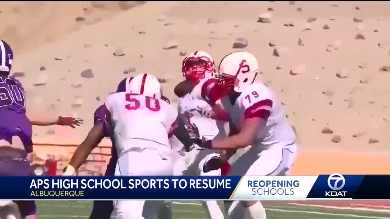 APS high school sports to resume