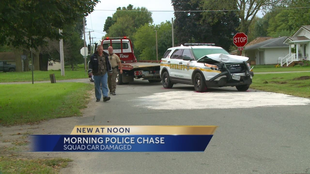 Vehicles Smashed In Backroads High Speed Chase
