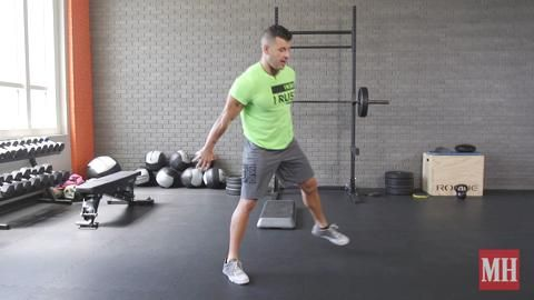 How to Do the Seesaw Lunge