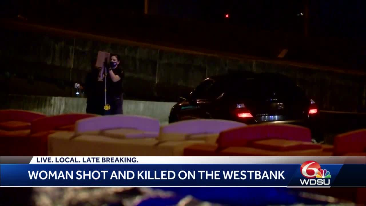 Woman shot and killed while driving on Westbank Expressway