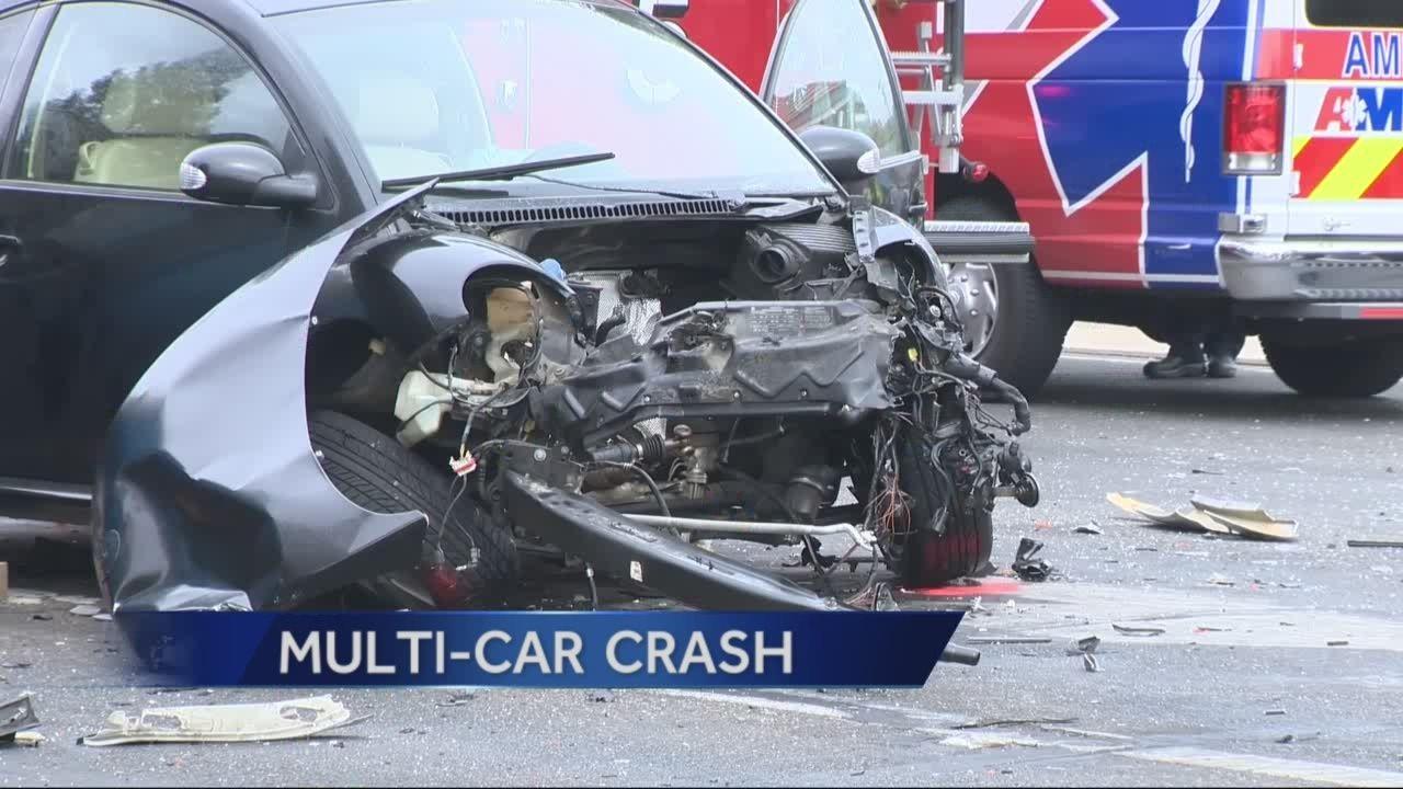 Modesto stolen car chase ends in crash