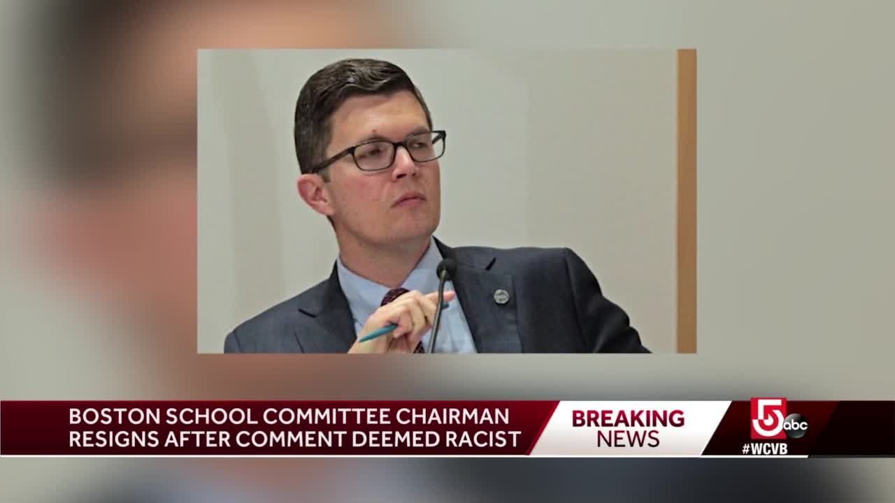 Boston School Committee chairman resigns after comments