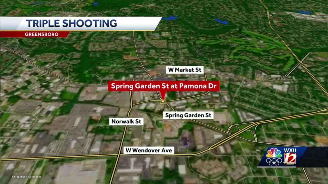 3 People shot in Greensboro