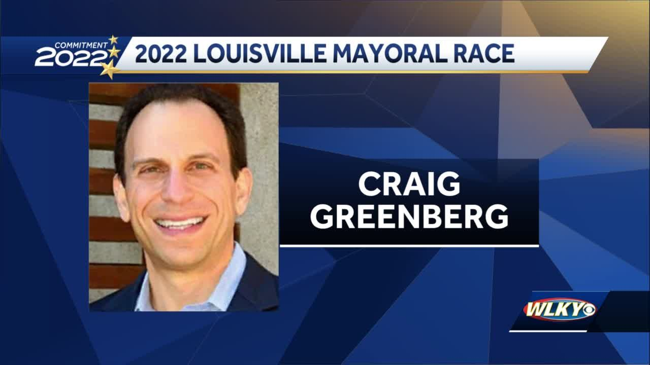 Craig Greenbeg announces mayoral run