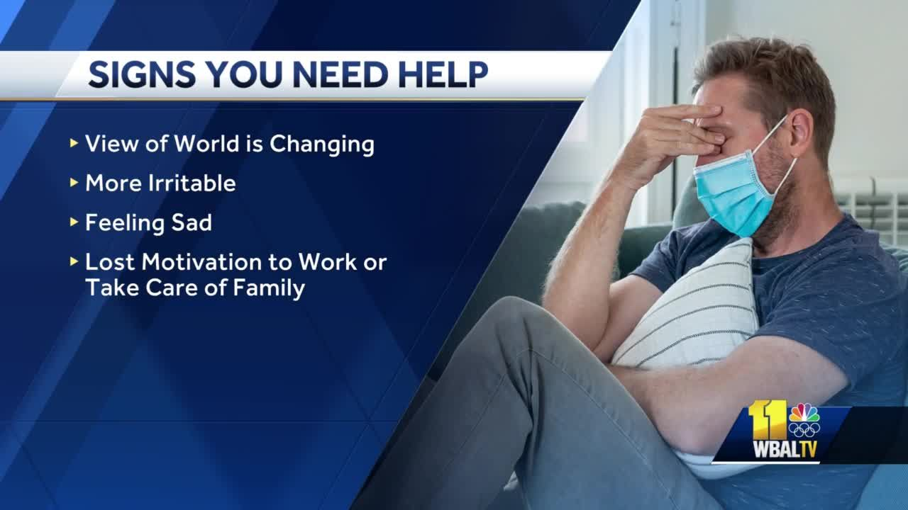Watch for these warning signs for when someone needs to get help