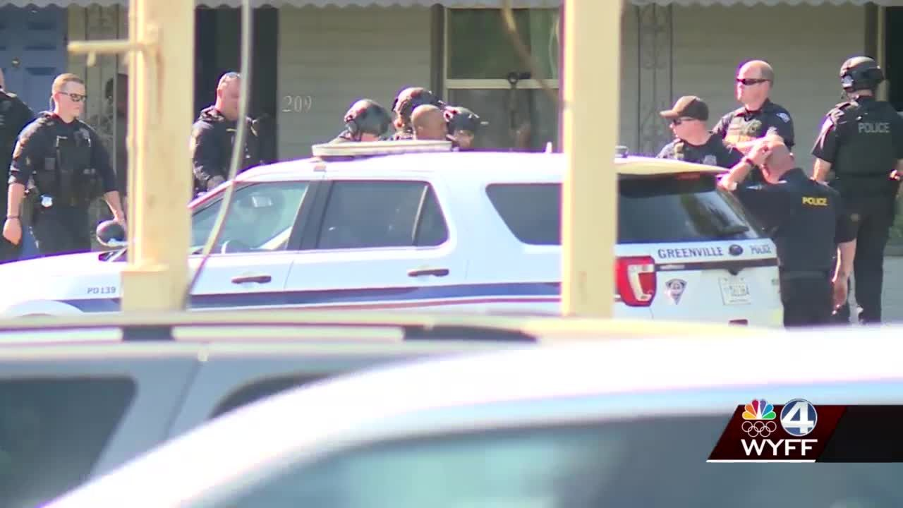Standoff over at Greenville motel, suspect arrested and woman and 2 children removed from room