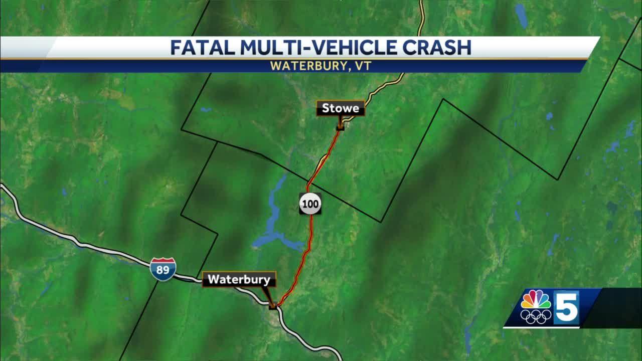 6-vehicle crash leaves one man dead in Washington County