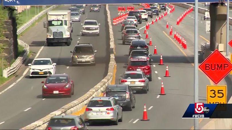 Massive Commonwealth Avenue bridge project causes traffic jams