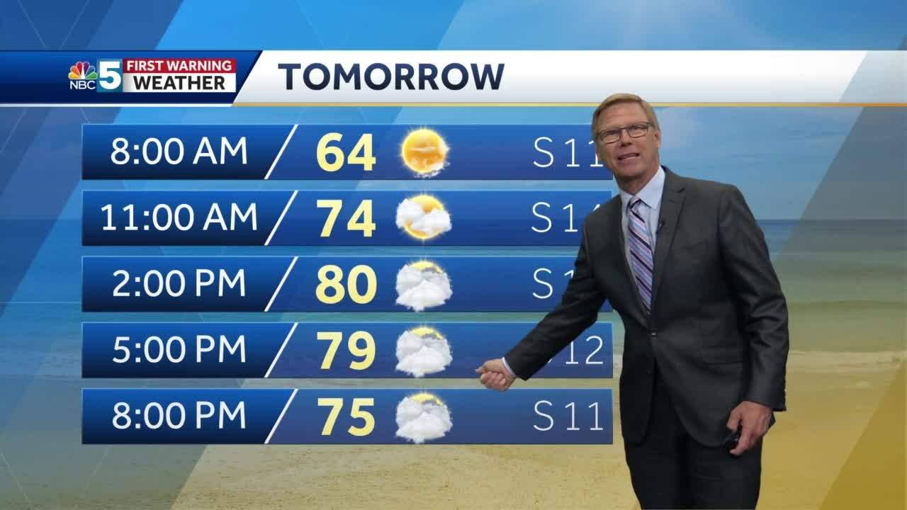 Video: Tom Messner has your weekend forecast.