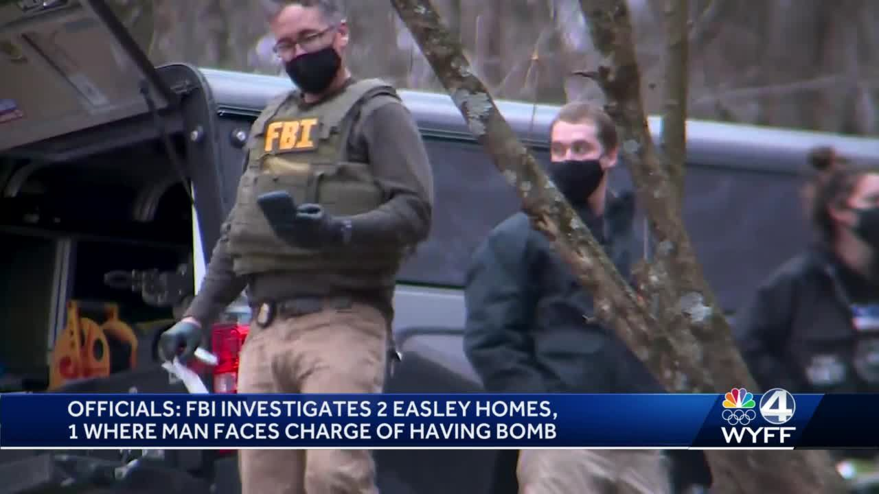 Pickens County man charged with having explosive device