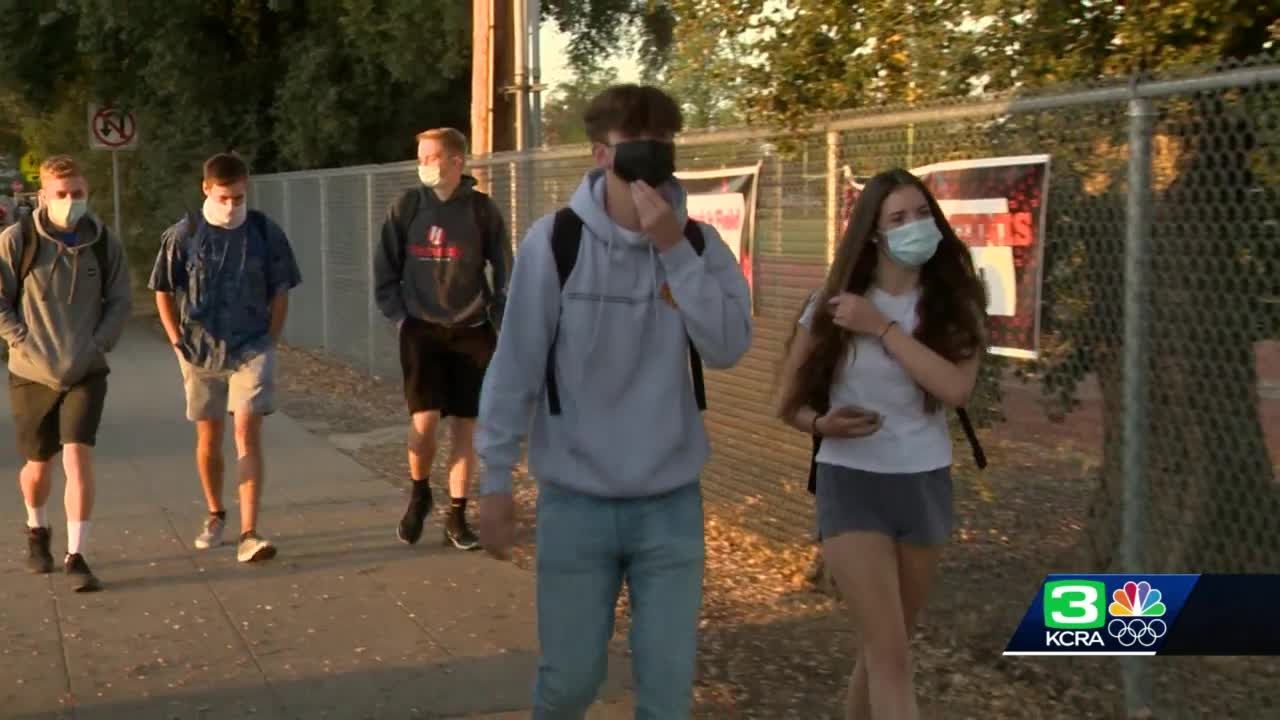 Students in Lodi head back to the classroom