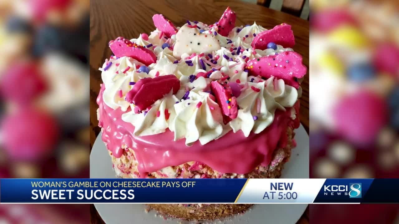 Sweet success: Iowan quits job in pandemic to make cheesecakes full-time