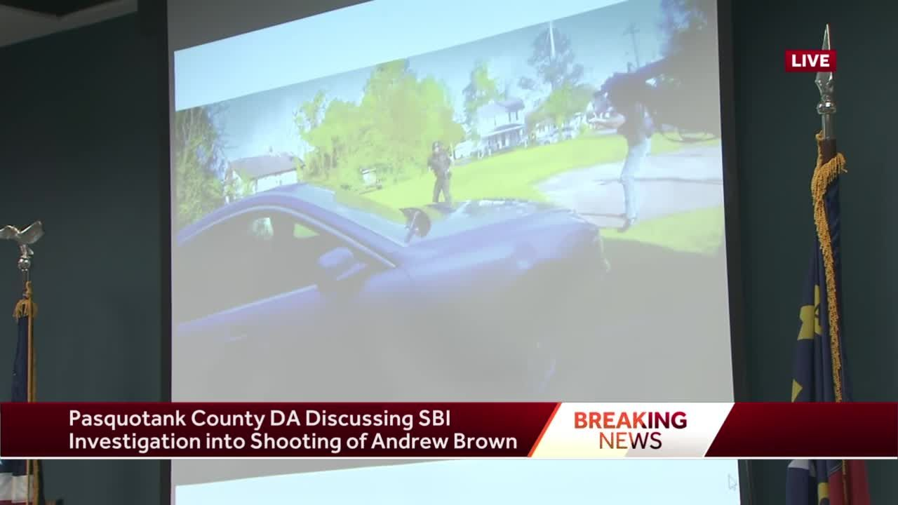 Pasquotank County district attorney says deadly shooting of Andrew Brown, Jr. 'justified:' Description of events