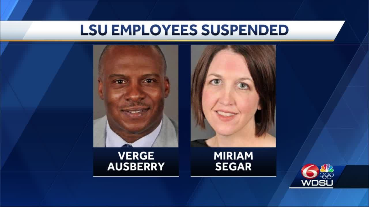 LSU suspends 2 employees for mishandling sexual assault claims against athletes