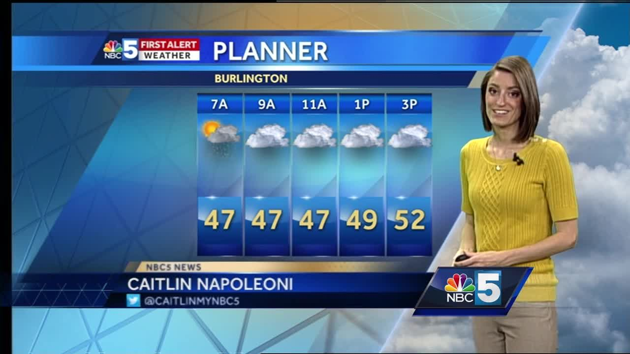 Video: Significantly cooler on Monday 4/17/17