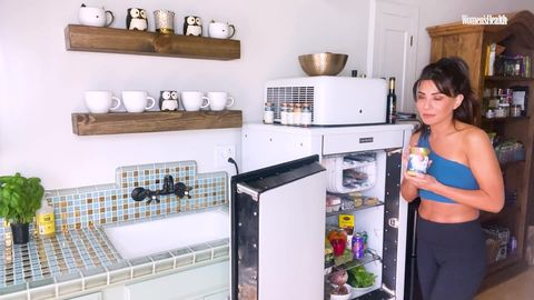 preview for Marisol Nichols' Chic Fridge Is Packed With Delicious Veggies | Fridge Tours