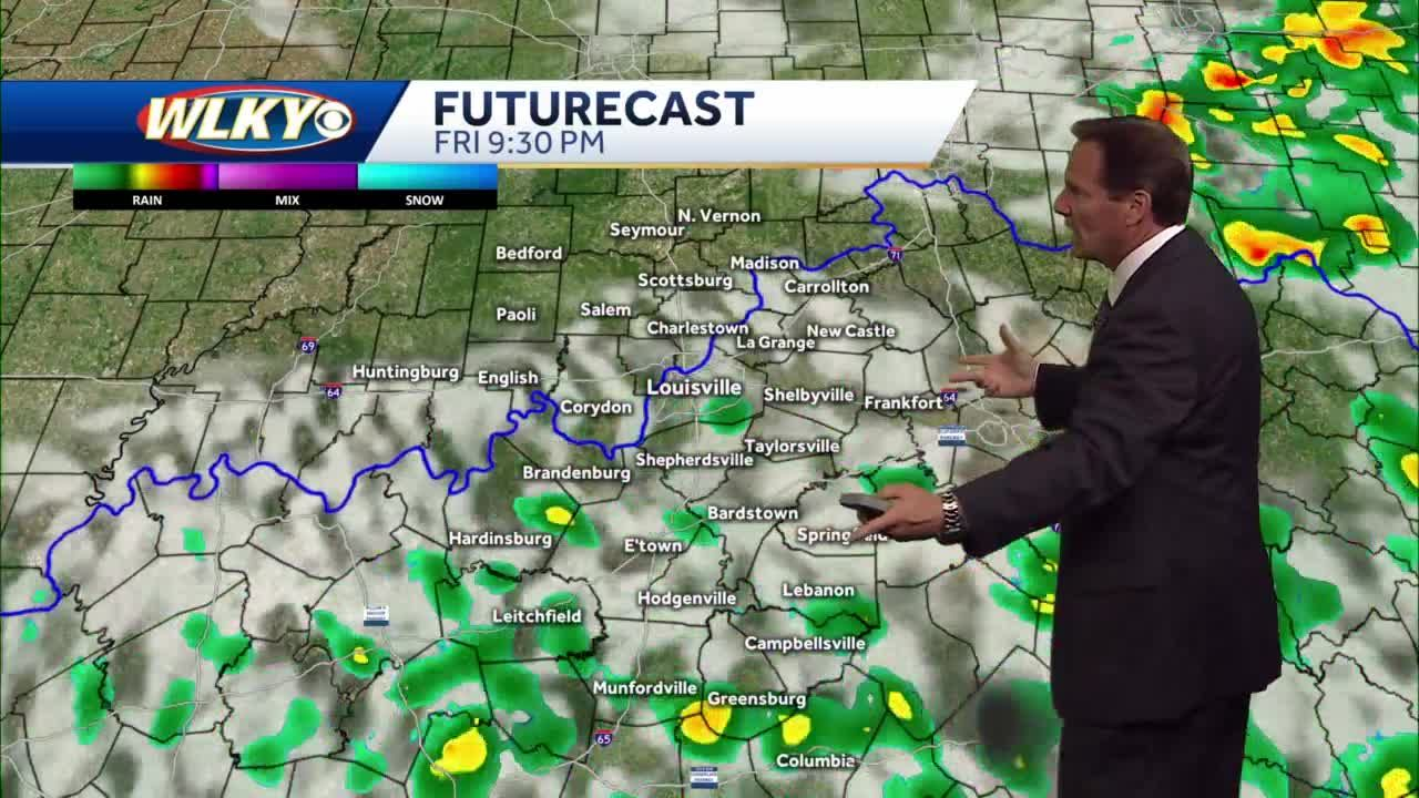 Rain chances possible this evening