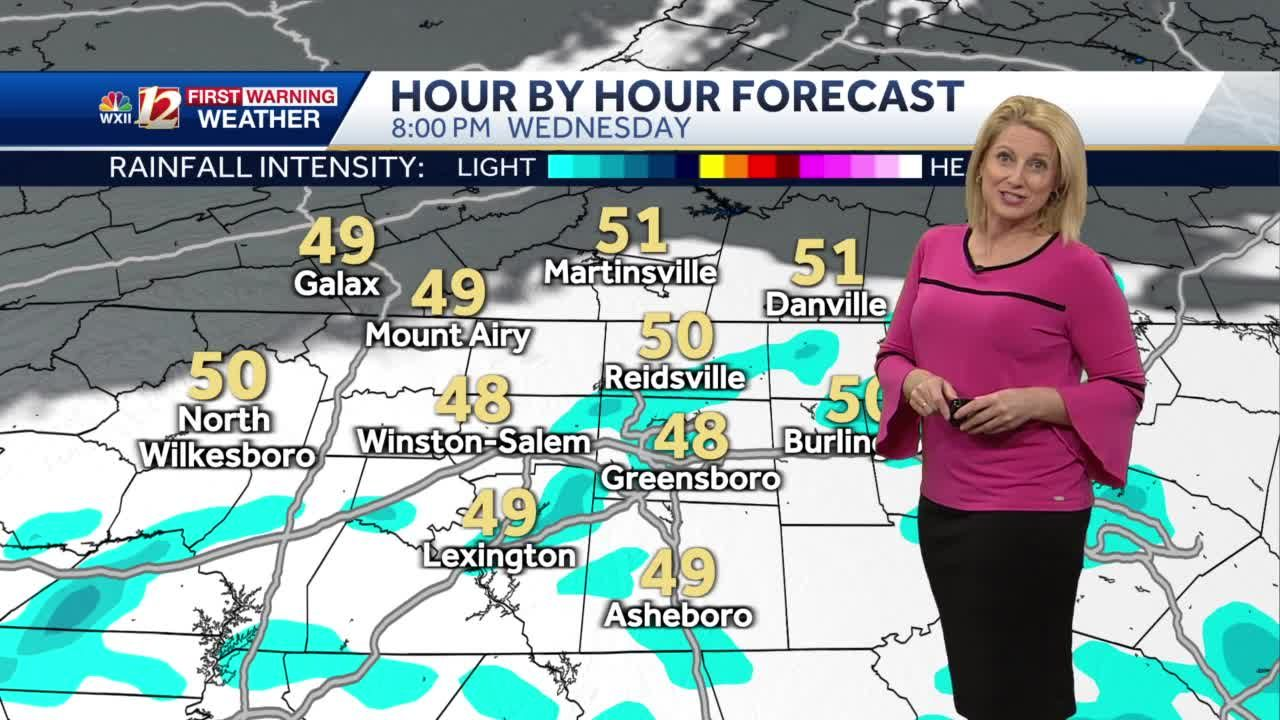 WATCH: Mountain Flurries Today Plus Showers Clearing Into Thursday