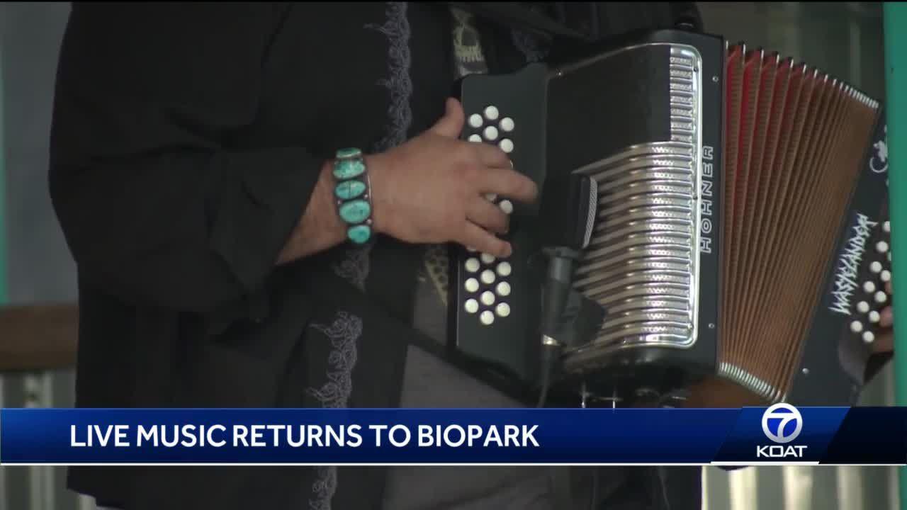 Live Music Returns to Biopark