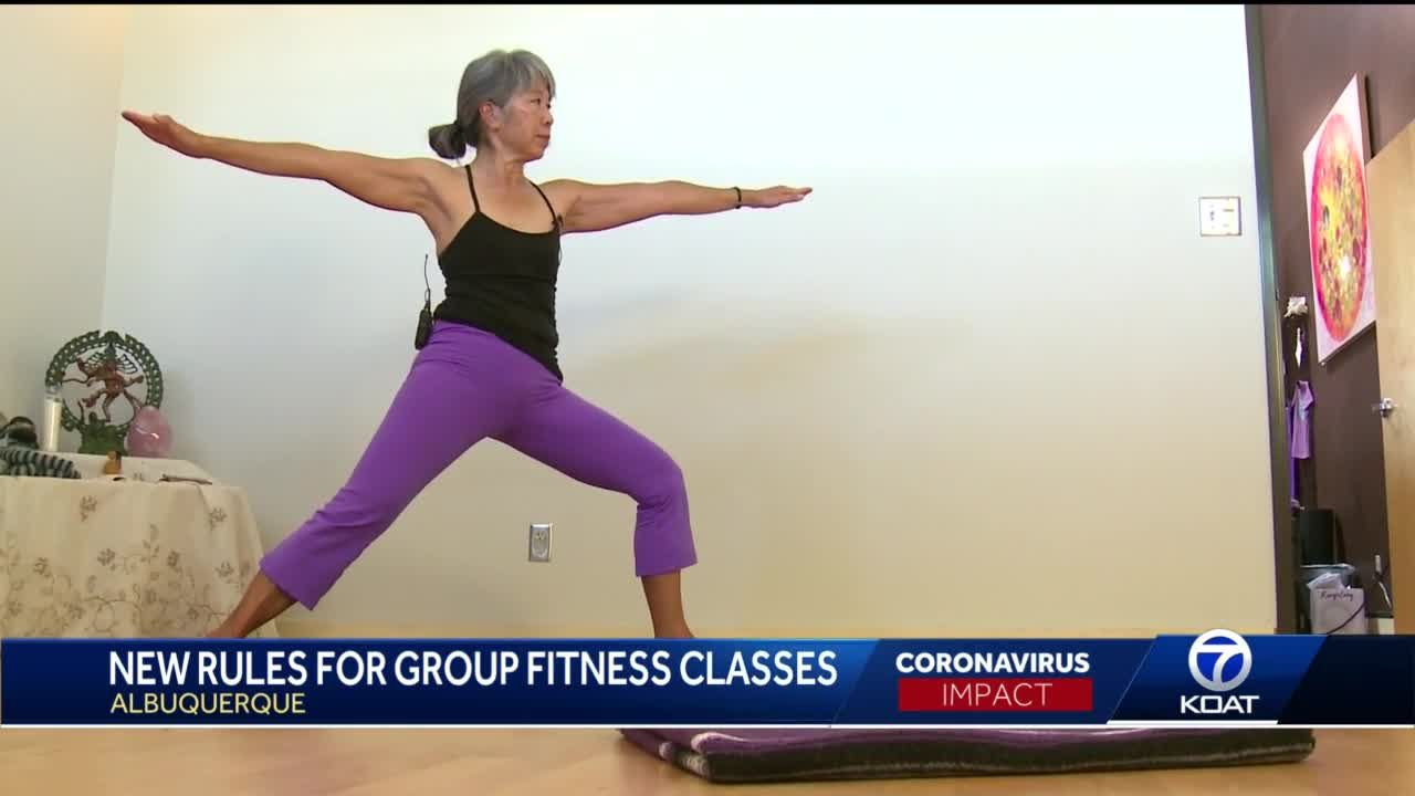 New rules for group fitness classes