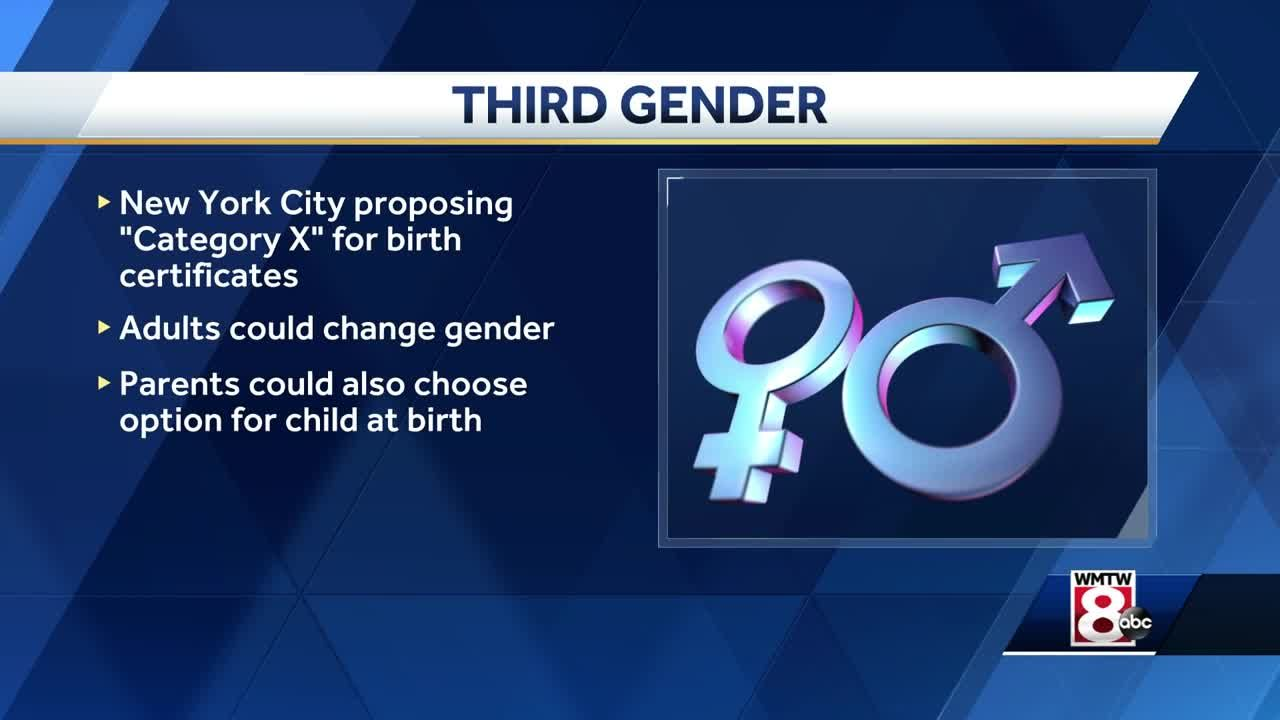 Proposal Would Add X Category To Nyc Birth Certificates