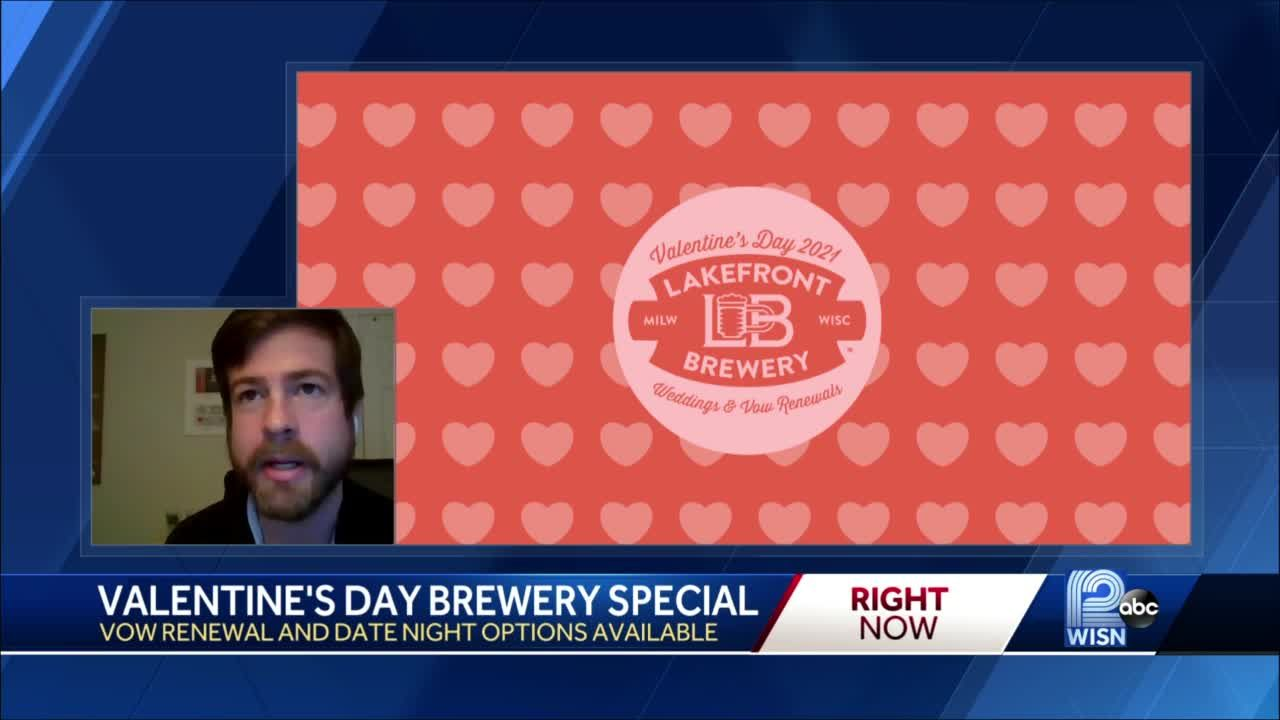 Lakefront Brewery offering Valentine's Day wedding special