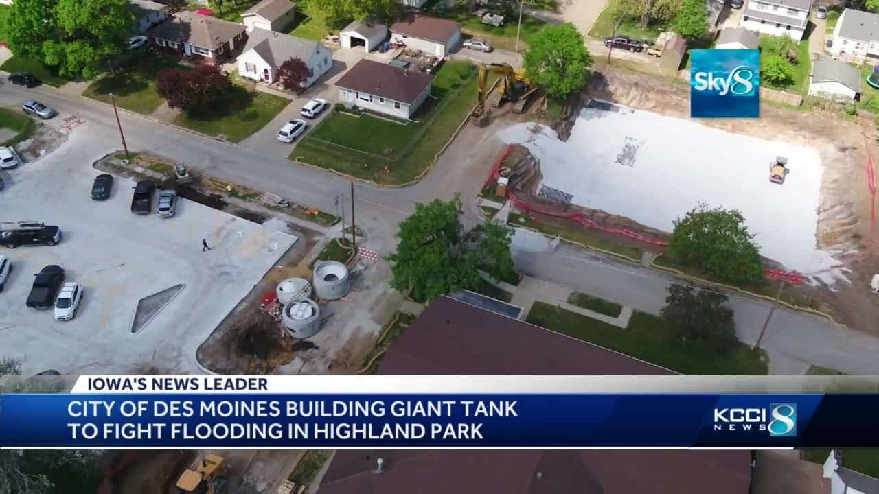 New flood protection project underway in northeast Des Moines