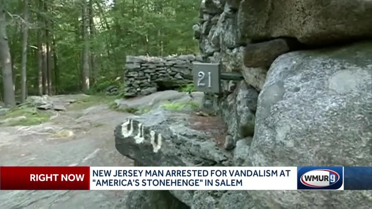 New Jersey man accused of vandalizing America's Stonehenge in Salem
