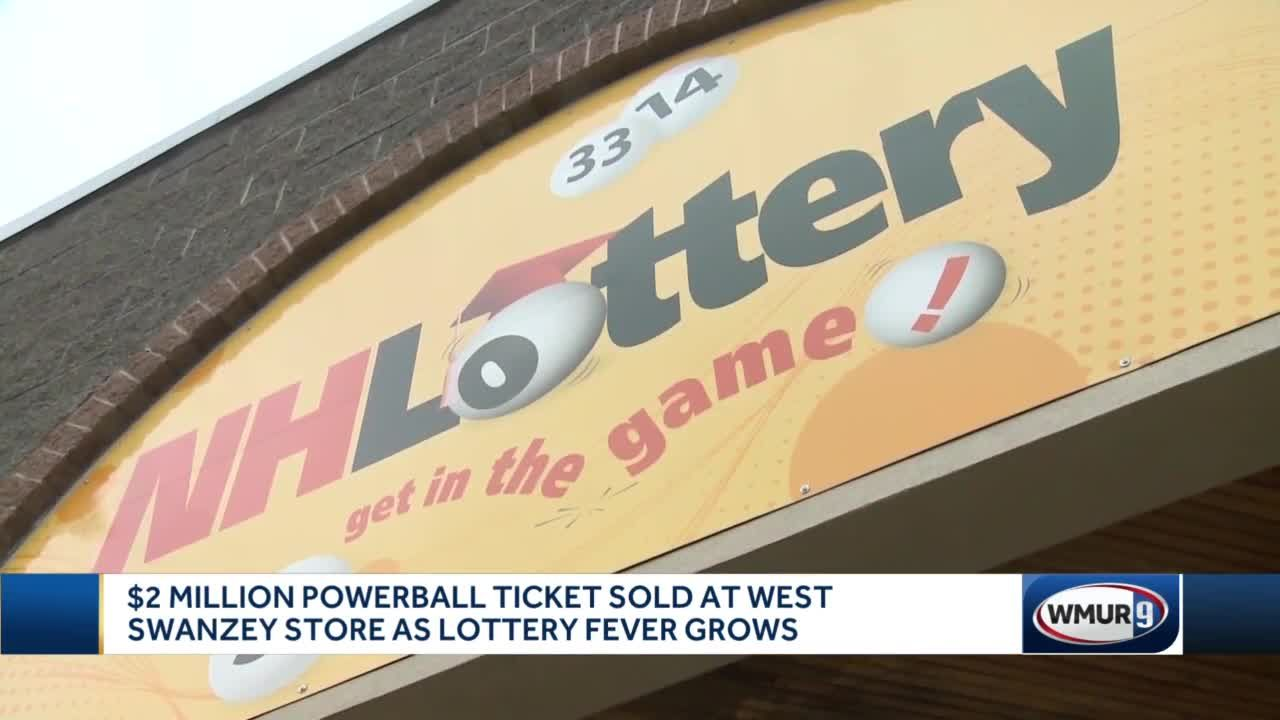$2 million Powerball ticket sold at West Swanzey store as lottery fever grows