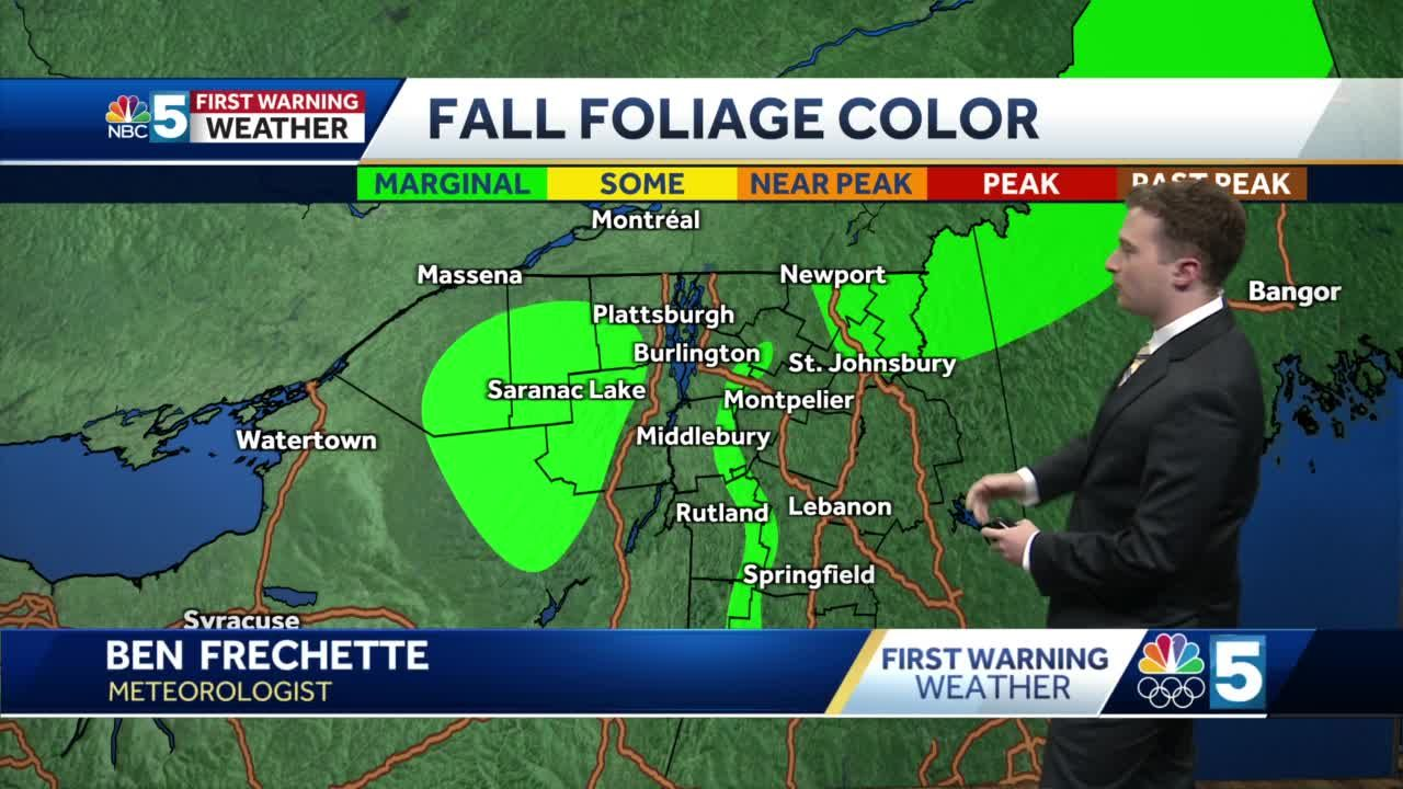 Video: Few showers this weekend (9-17-21)