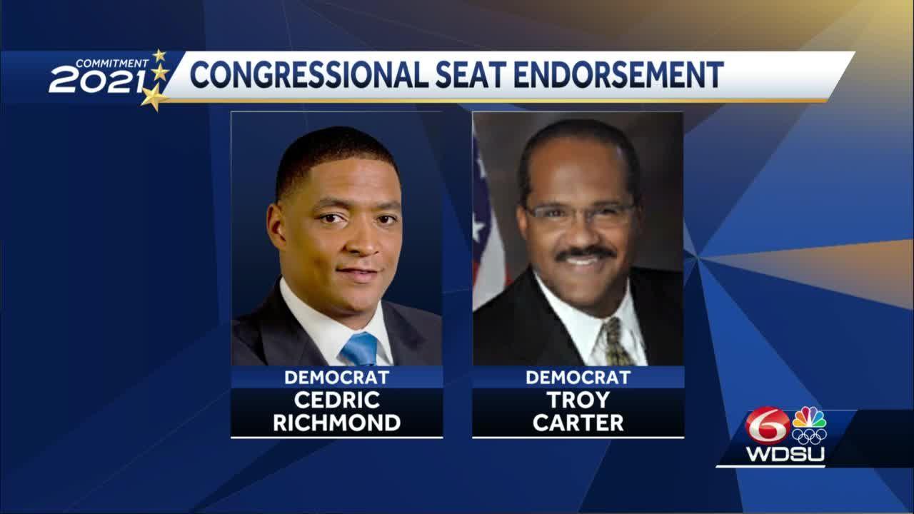 Cedric Richmond endorses Troy Carter for Congress