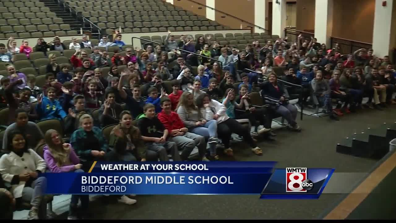 Weather At Your School Biddeford Middle School