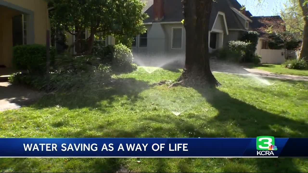 Water saving as a way of life in California