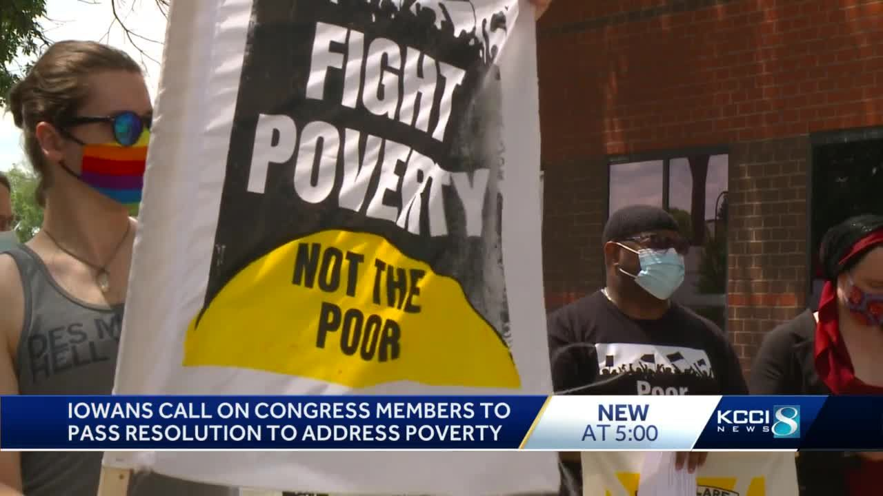Iowans call on Congress to pass resolution on poverty