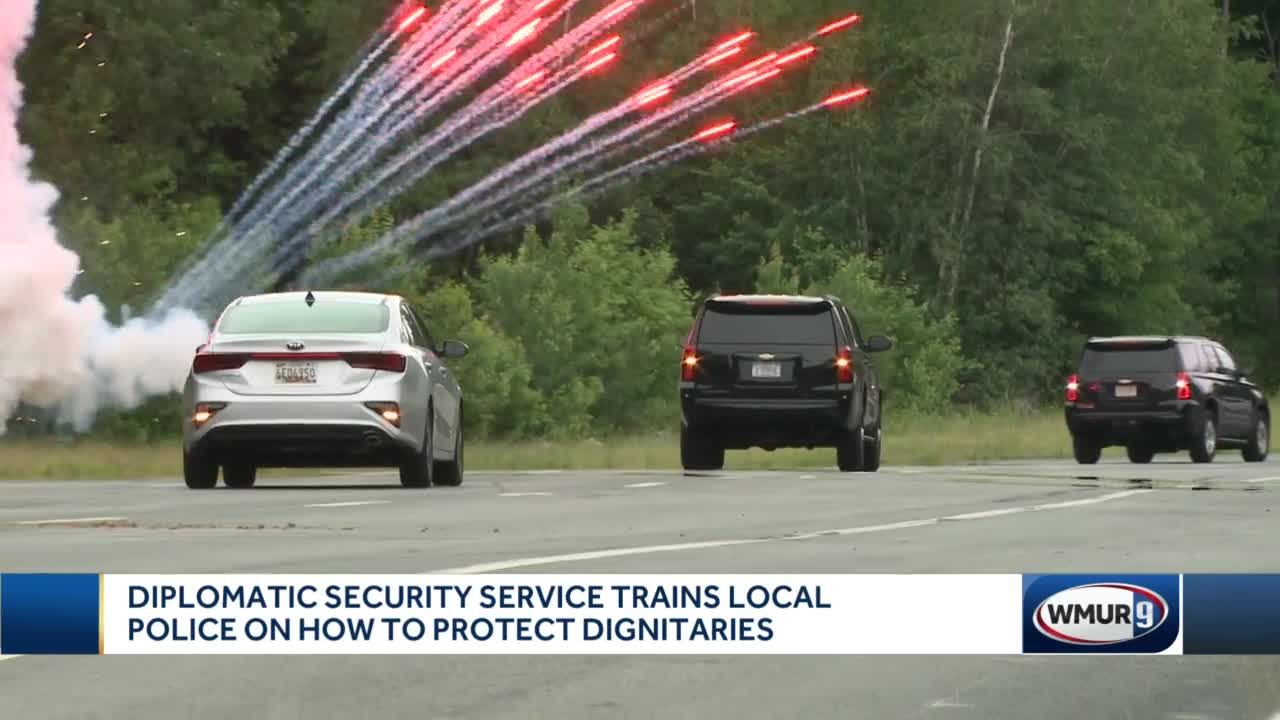 Security service trains local police on how to protect dignitaries
