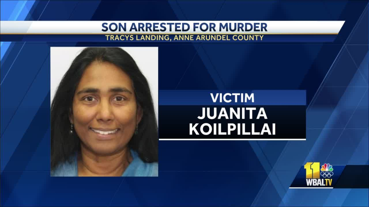 Police: Man fled to Virginia, leaving mother dead in Maryland