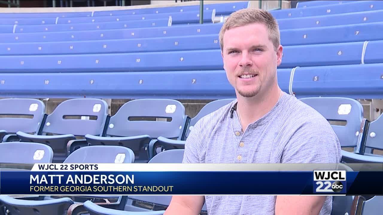Georgia Southern's Matt Anderson writes first book