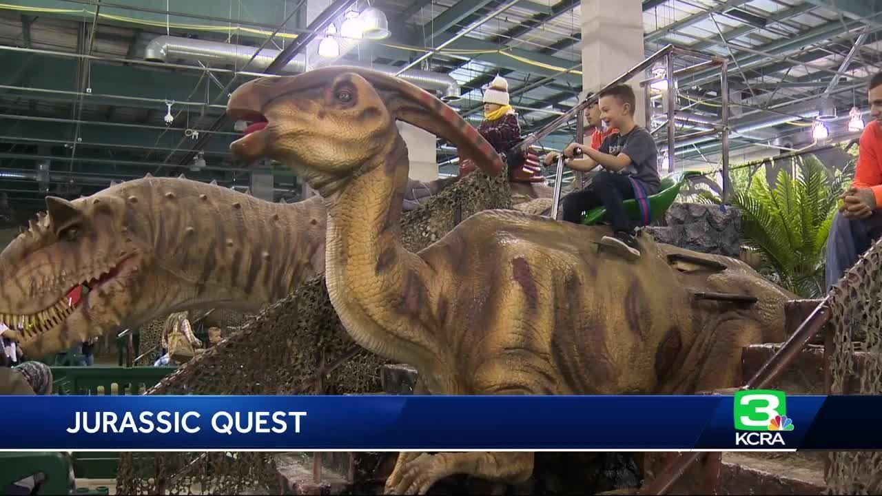 Jurassic Quest A Dinosaur Park Museum And World Near Me Huge Exhibit