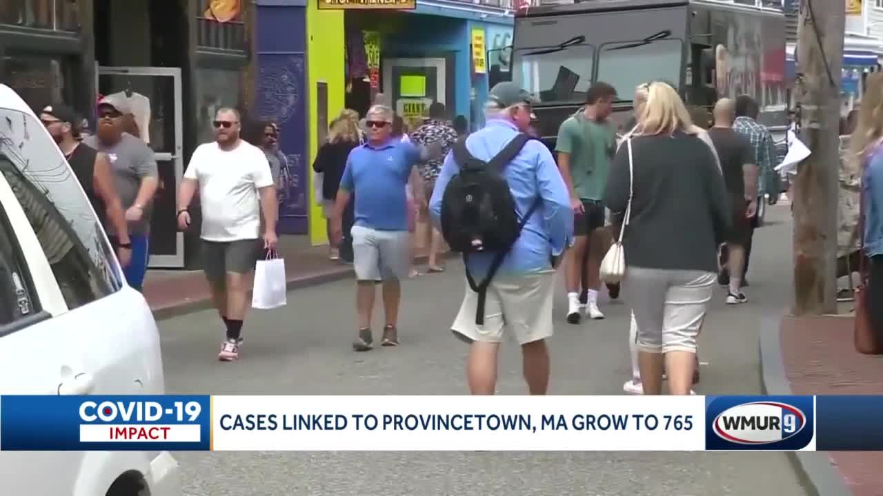 765 COVID-19 cases linked to Provincetown cluster