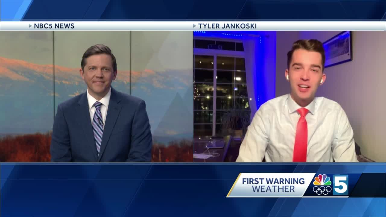Video: Wet snow and rain on Saturday (1-15-21)