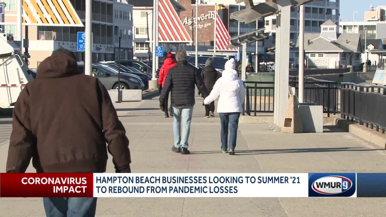 Hampton Beach businesses looking to summer '21 to rebound from pandemic losses